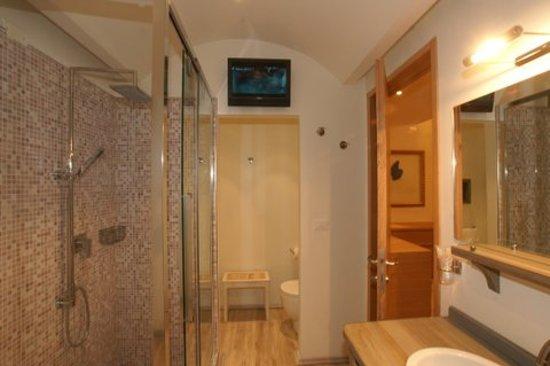 Hotel Saraceno: Junior suite bagno
