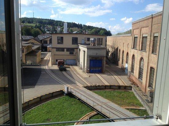 Depot 195 - Hostel Winterthur: Ausblick aus dem Zimmerfenster