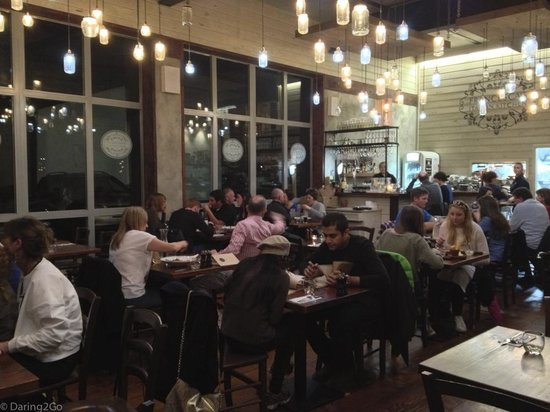Francesca's Kitchen: A busy restaurant with warm ambience