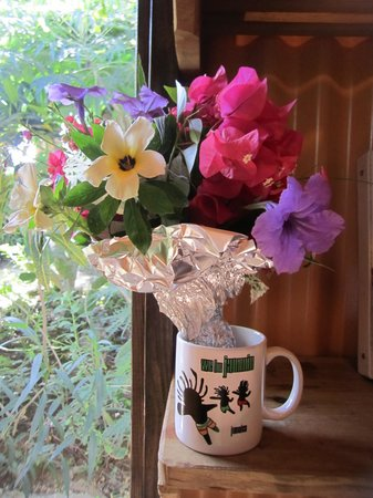 Judy House Cottages and Rooms: Birthday Bouquet from Sue