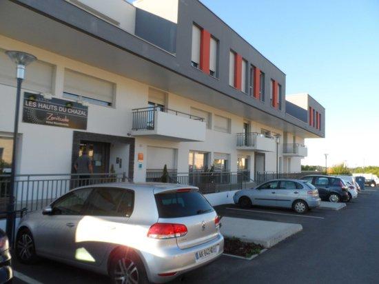 Zenitude Hôtel-Résidences Les Hauts du Chazal : Zenitude Besançon