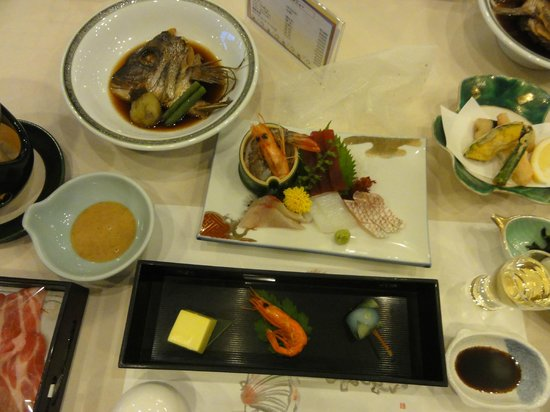 Kamogawa Hills Resort Hotel: 夕食