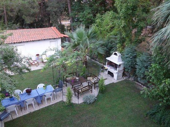 Hotel Villa Anais: view from balcony