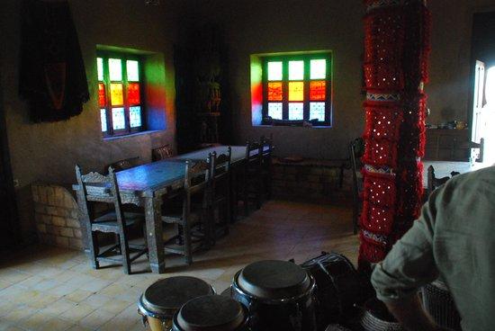 Auberge Kasbah Leila: interno dove viene offerto il te