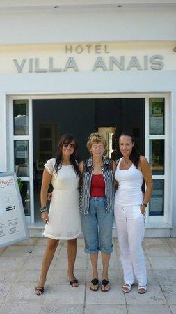 Hotel Villa Anais: with Betty