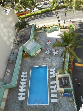 Ramada Plaza Waikiki: View from our window