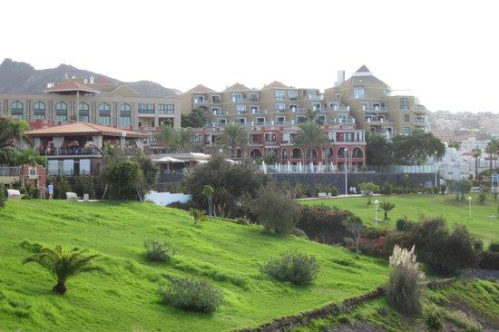 Iberostar Grand Hotel Salome: Salome salmon coloured area
