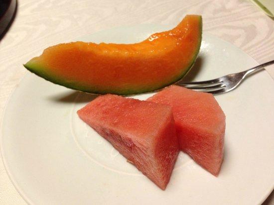 Ginsuiso Choraku: デザート