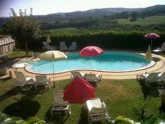 Hôtel Mounéa : piscine
