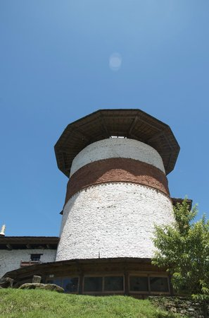 Ta Dzong (Watch Tower) Museum in Trongsa, Bhutan