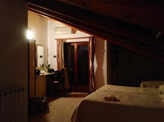 Villa Milli: la camera in mansarda