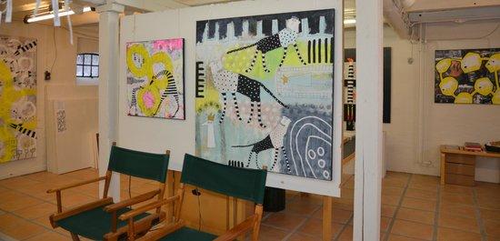 Slangerup, Danemark : Atelier/Galleri Hanegal