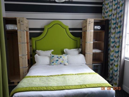 Hotel Fabric : chambre