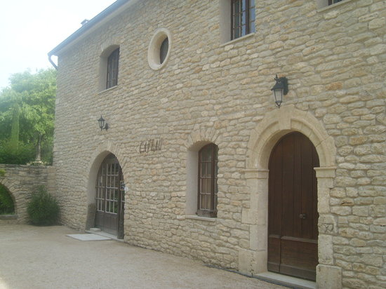 "Chateau la Canorgue : ""The cave"" at chateau carnogue (wine tasting heaven!)"