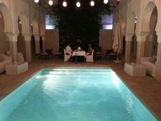 Riad Nashira & Spa : Diner aux chandelles Ryad Nashira