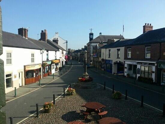 Garstang, UK: view from bedroom window