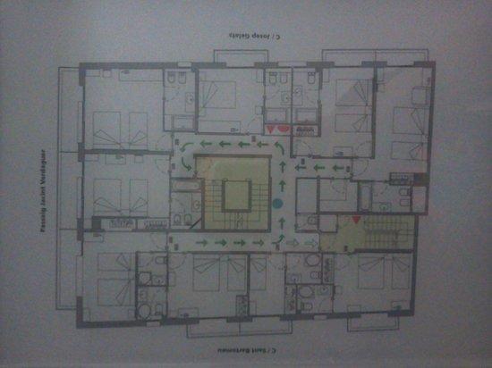 URH Hotel Excelsior: floorplan
