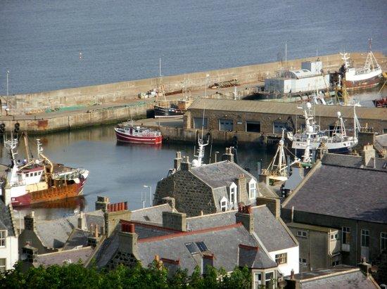 Mansefield House Bed & Breakfast : McDuff harbour