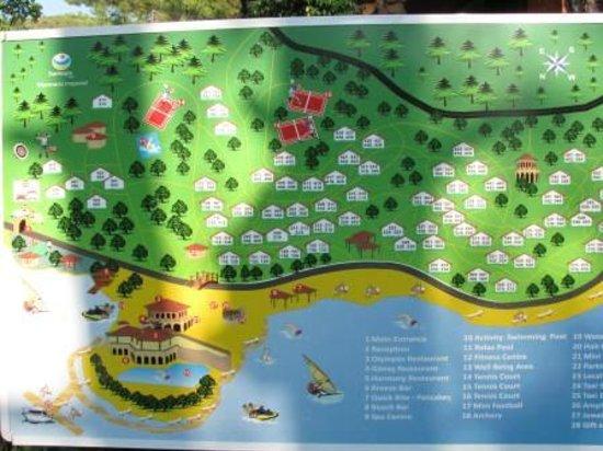 map of the hotel Picture of TUI BLUE Marmaris Marmaris TripAdvisor