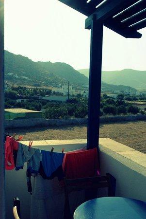 Diamantis Studios & Apartments: balcony