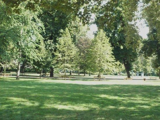 Synagogue de la Paix : Peaceful little park