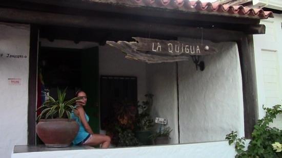Posada La Quigua Los Roques : ingresso