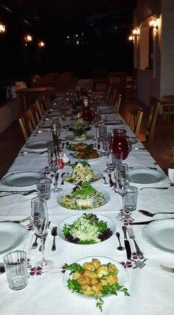 Kalina Kafe: dinner