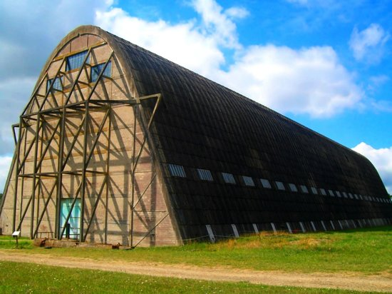 Hangar à Dirigeables d'Ecausseville : Le hangar