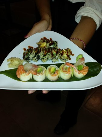 Ami Japanese Bar & Restaurant: Roll dello Chef