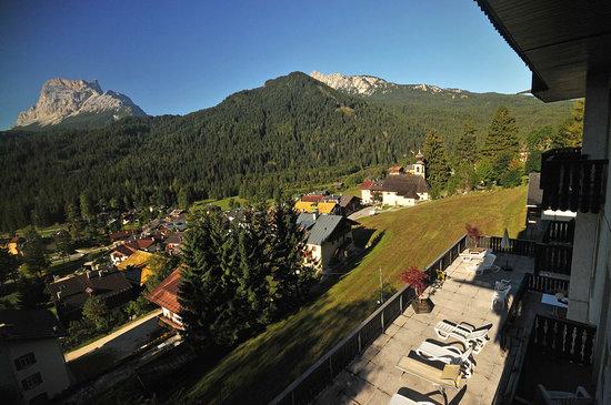 Cima Belpra' Hotel : View from balcony
