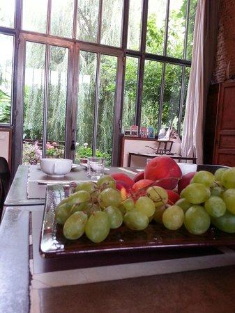 La Pradasse: petit-déjeuner