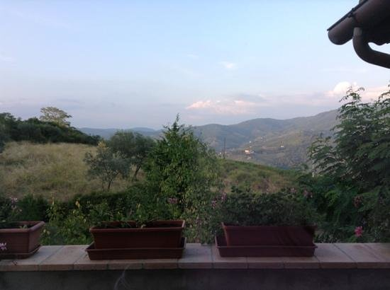 B&B Rosso del Chianti : the view from our balcony