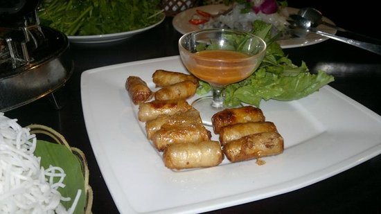 Romana Resort & Spa: Shrimp & Crab springroll