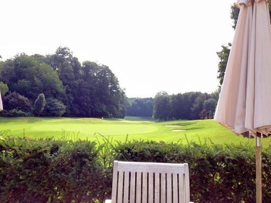 Golf Château de la Tournette: vue de la terrasse