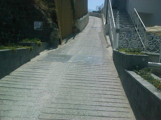 Hotel Il Fortino: more climbing