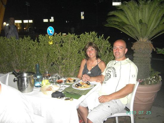 Hotel Soleluna: full plates