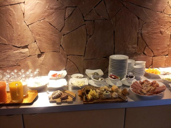 Hotel a la Ferme : Frühstück individuell