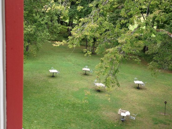 Padaste Manor: View from the Poetry Loft