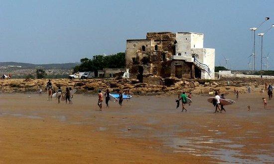 Windy Kaouki : Edificio emblematico de Sidi Kaouki