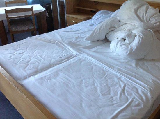 Hotel Regglbergerhof: lenzuola del letto