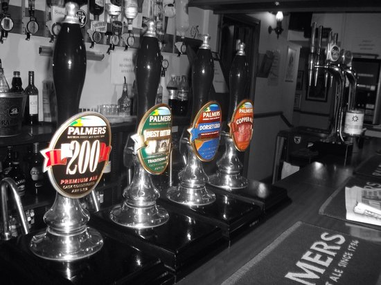 Axminster Inn: Palmers finest Real Ales