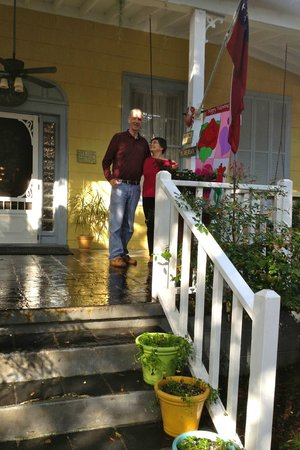 Tybee Island Inn: Sparkle after the rain.