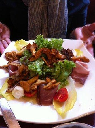 Restaurant Fuehrich: great salad