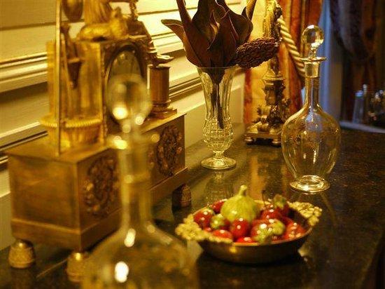 Salle manger du chateau de la montchevalleraie chambre for Chambre d hote chateau de la loire