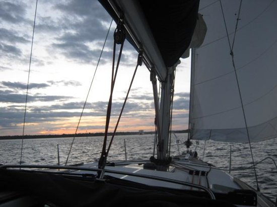 Escape Yachting - Day Sails: Sailing home