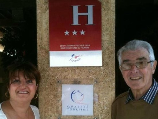 Hotel Le Glacier : The 2nd and 3rd generation of owners...