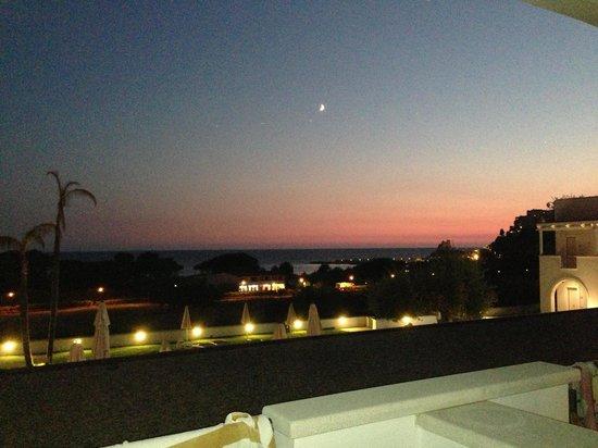 Hotel Grotta di Tiberio: sunset...........