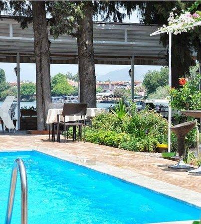 Berg Hotel: Piscine