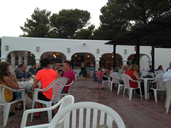 Cala Llenya Resort Ibiza: The bar