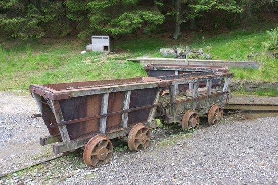 Killhope Lead Mining Museum: Mine trucks